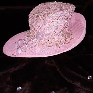 Beautiful pink hat